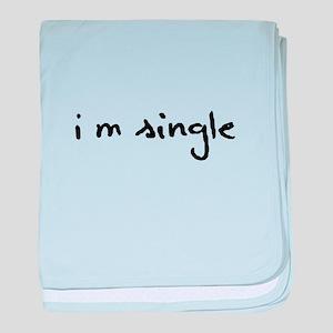 I'm Single baby blanket