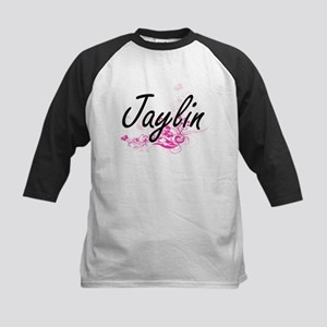 Jaylin Artistic Name Design with F Baseball Jersey