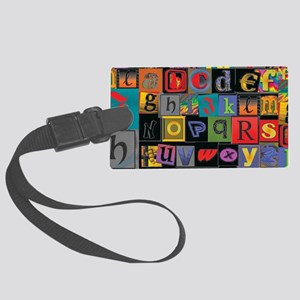 ABCDEFG Large Luggage Tag
