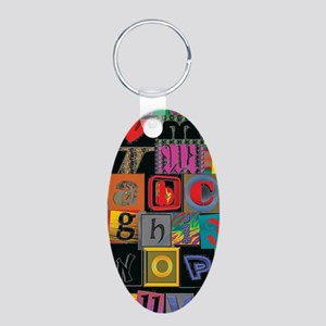 ABCDEFG Keychains