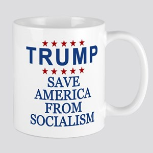 Save America From Socialism Mug