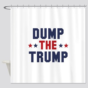 Dump The Trump Shower Curtain