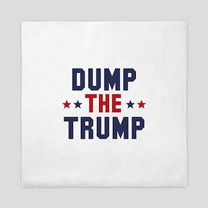 Dump The Trump Queen Duvet