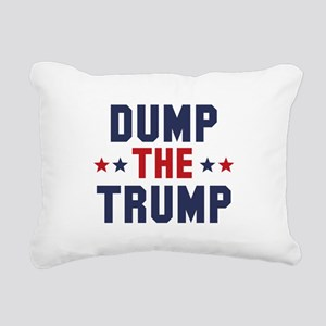 Dump The Trump Rectangular Canvas Pillow