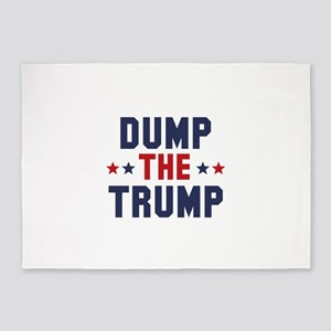 Dump The Trump 5'x7'Area Rug