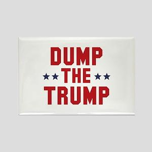 Dump The Trump Rectangle Magnet