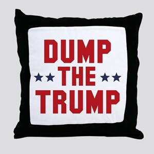 Dump The Trump Throw Pillow