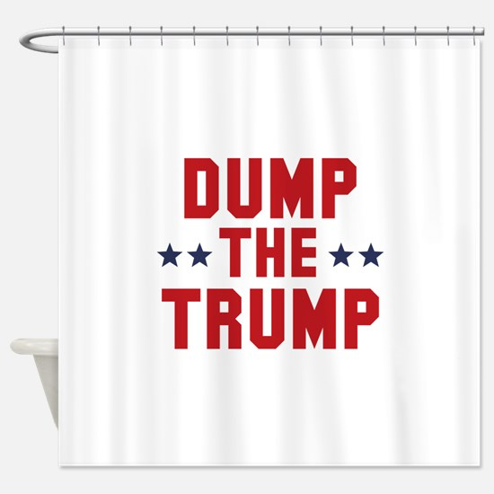 Dump The Trump Shower Curtain