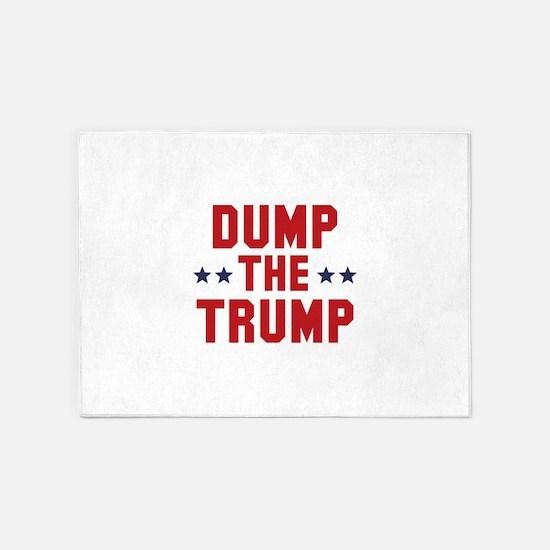 Dump The Trump 5'x7'Area Rug