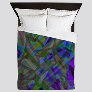 Colorful Stained Glass G3 Queen Duvet
