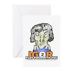 Billiard Halloween Igor Greeting Cards (Pk of 10)