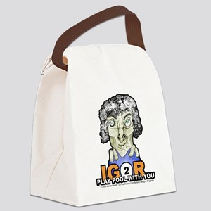 Billiard Halloween Igor 2 Play Canvas Lunch Bag