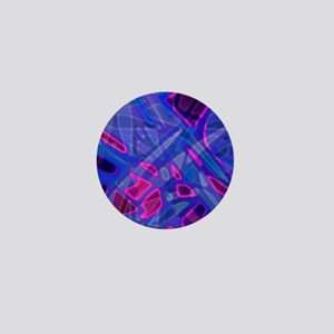 Colorful Stained Glass G5 Mini Button