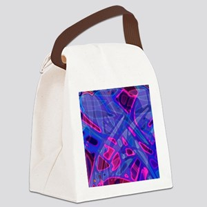 Colorful Stained Glass G5 Canvas Lunch Bag