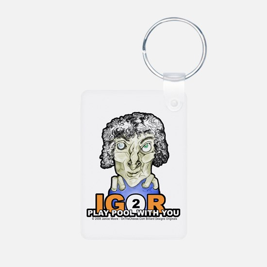 Billiard Halloween Igor 2 Keychains