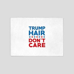 Trump Hair Don't Care 5'x7'Area Rug
