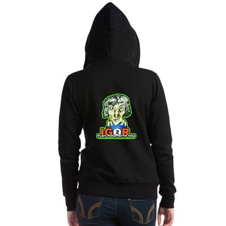 Billiard Halloween Igor 2 Play Women's Zip Hoodie