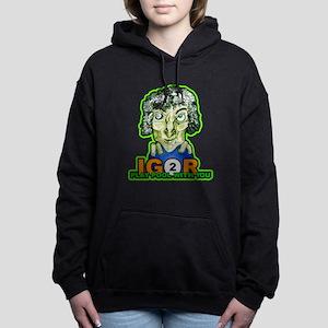 Billiard Halloween Igor Women's Hooded Sweatshirt