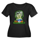 Billiard Women's Plus Size Scoop Neck Dark T-Shirt