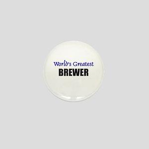 Worlds Greatest BREWER Mini Button