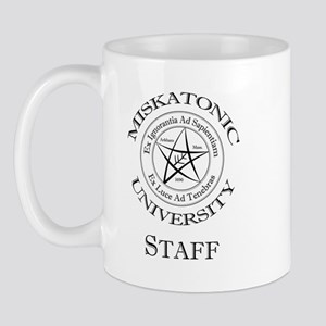 Miskatonic-Staff Mug Mugs