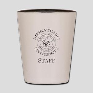Miskatonic-Staff Shot Glass