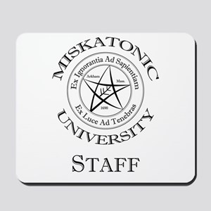 Miskatonic-Staff Mousepad