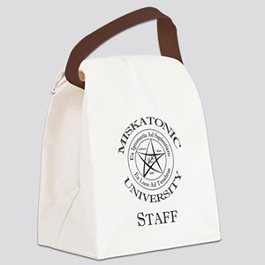 Miskatonic-Staff Canvas Lunch Bag