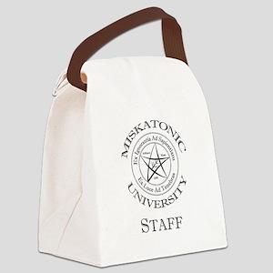 Miskatonic-Staff Canvas Lunch Bag