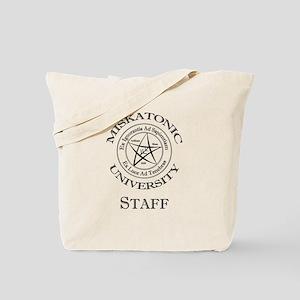 Miskatonic-Staff Tote Bag