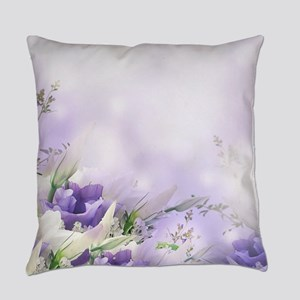 Beautiful Floral Everyday Pillow