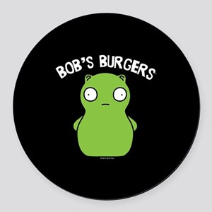 Bob's Burgers Kuchi Kopi Round Car Magnet