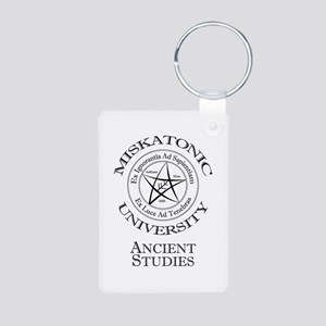 Miskatonic-Ancient Aluminum Photo Keychain