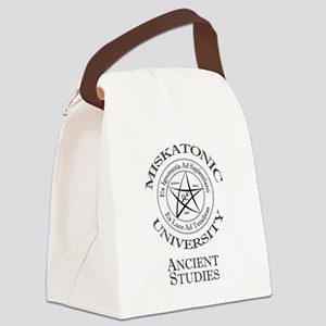 Miskatonic-Ancient Canvas Lunch Bag