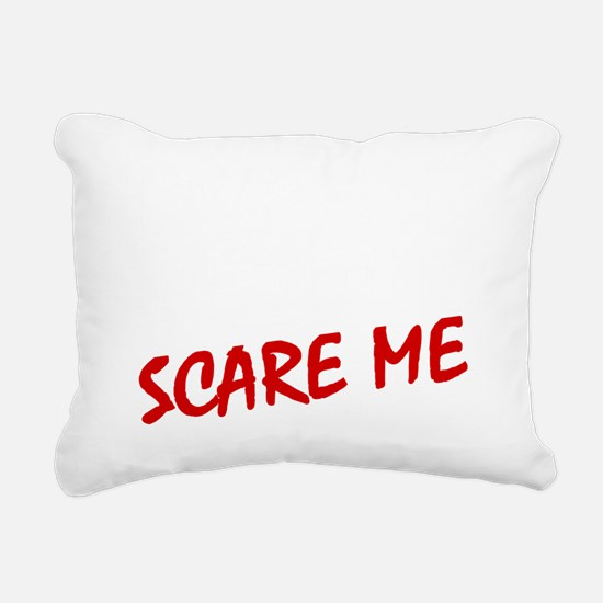 Cool Normal people scare me Rectangular Canvas Pillow
