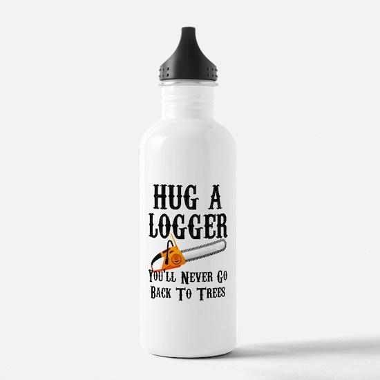 Unique Lumberjack Water Bottle