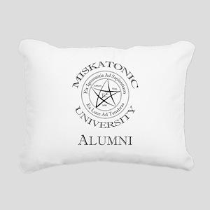 Miskatonic - Alumni Rectangular Canvas Pillow