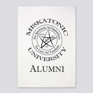 Miskatonic - Alumni 5'x7'Area Rug