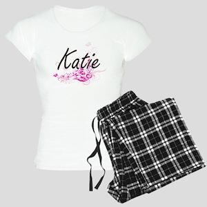 Katie Artistic Name Design Women's Light Pajamas