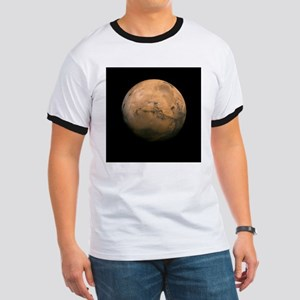 Mars Globe - Valles Mariners by JPL - NASA T-Shirt