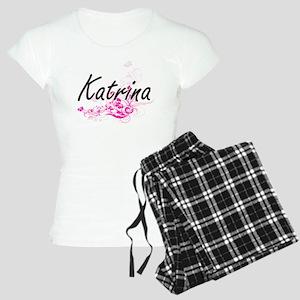 Katrina Artistic Name Desig Women's Light Pajamas