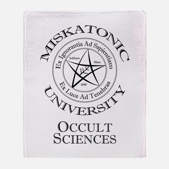 Miskatonic - Occult Throw Blanket