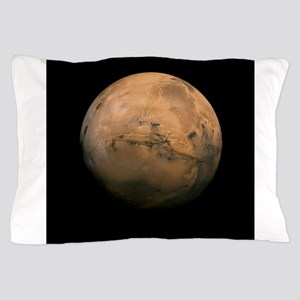 Mars Globe - Valles Mariners by JPL - Pillow Case