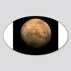 Mars Globe - Valles Mariners by JPL - NASA Sticker
