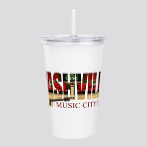 Nashville Music City USA Acrylic Double-wall Tumbl