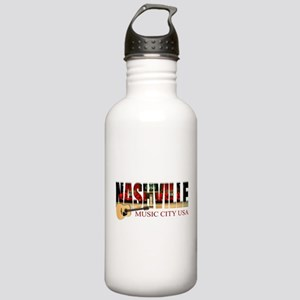 Nashville Music City USA Water Bottle
