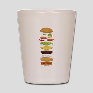 Bob's Burgers Stacked Burger Shot Glass