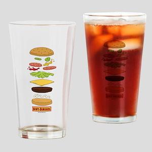 Bob's Burgers Stacked Burger Drinking Glass