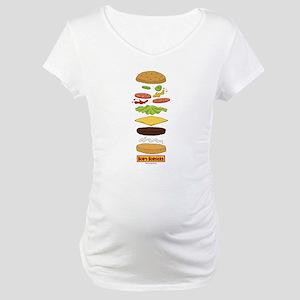 Bob's Burgers Stacked Burger Maternity T-Shirt