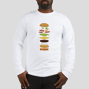 Bob's Burgers Stacked Burger Long Sleeve T-Shirt